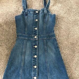 Boyish Jeans Mini Dress